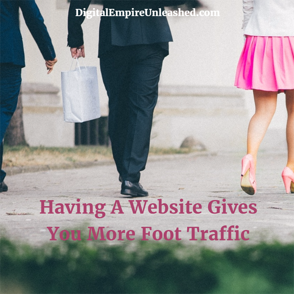 why you need a website